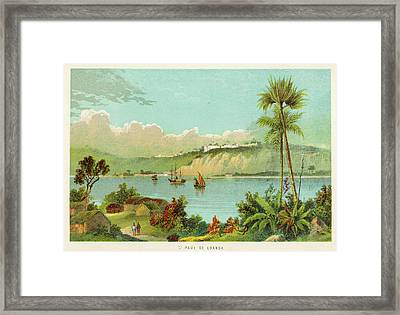 Luanda (sao Paolo De Loanda)  General Framed Print by Mary Evans Picture Library