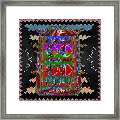 Magic Lamp Lights Up And Ask For 3 Wishes Chant 3 Times Jaag Jaag Kismat Framed Print by Navin Joshi