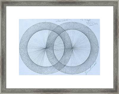 Magnetism Framed Print by Jason Padgett