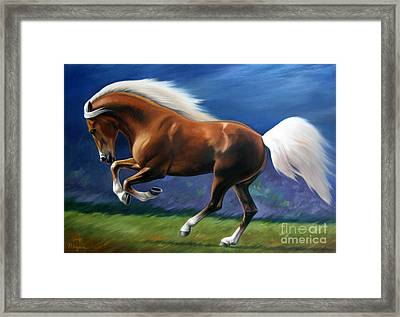 Magnificent Power And Motion Framed Print