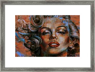 Marilyn Monroe Framed Print by Arthur Braginsky