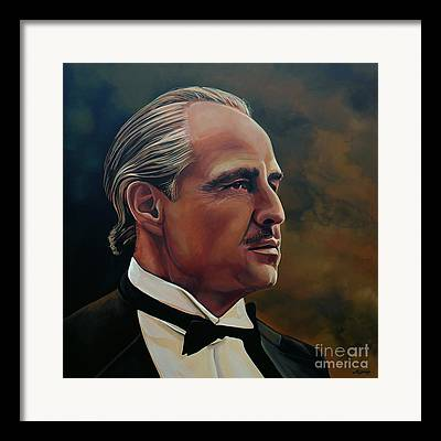Golden Globe Framed Prints