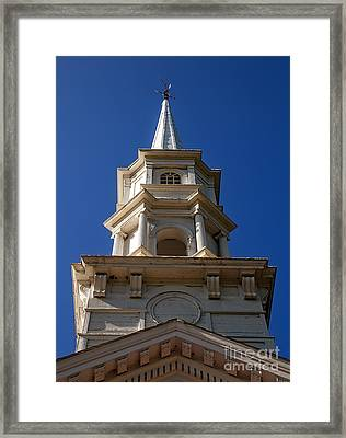 Martha-mary Chapel  Framed Print by Edward Fielding