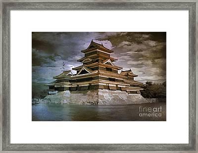 Matsumoto Castle  Framed Print by Andrzej Szczerski