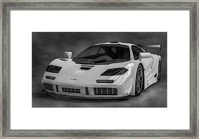 Mclaren F1 Lm Framed Print