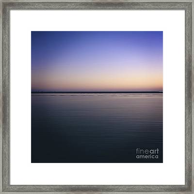 Mediterranean Sea. Provence. France Framed Print by Bernard Jaubert