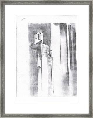 Metro Scape Framed Print by John Deeter
