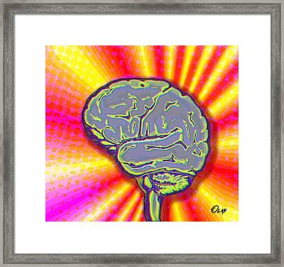 Mind Grenade Framed Print