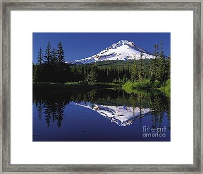Framed Print featuring the photograph  Mount Hood Oregon  by Paul Fearn