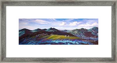 Mourne Mountains 1 Framed Print by Anne Marie ODriscoll
