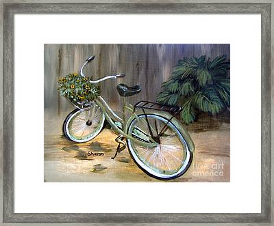 My Way Framed Print by Sharon Burger