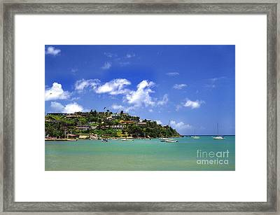 Naguabo Shoreline Framed Print by Thomas R Fletcher