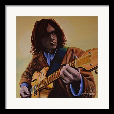 Neil Young Framed Prints