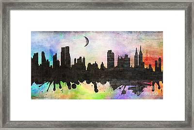 New York 6 Framed Print