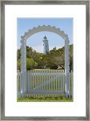 Ocracoke Island Lighthouse Framed Print by Mike McGlothlen