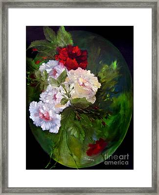 Of Rhapsodies And Roses Framed Print