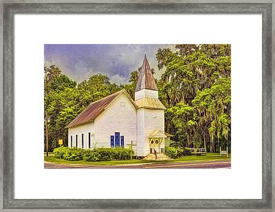 Old Rural Church Framed Print