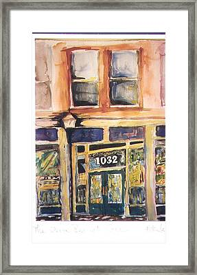 Olive Branch Cafe  Framed Print