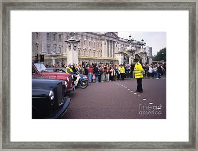 On Your Marks Framed Print by Carol Weitz