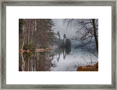 Framed Print featuring the photograph  One Solemn Spring In May by Rose-Maries Pictures
