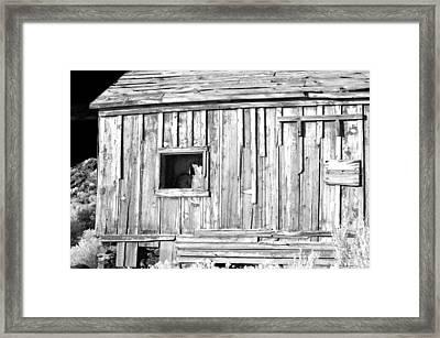 One Window Framed Print
