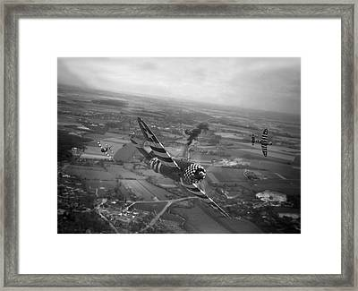P47 Thunderbolt - D-day Train Busters Framed Print