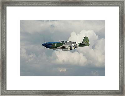 P51 Mustang Gallery - No1 Framed Print by Pat Speirs