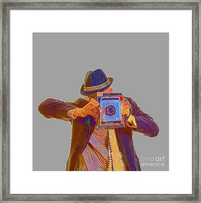 Paparazzi Framed Print by Edward Fielding