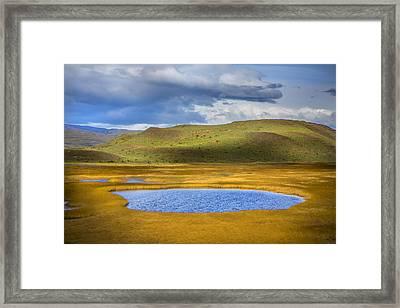 Patagonian Lakes Framed Print