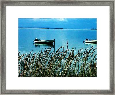 Peaceful Samsoe Island Denmark Framed Print