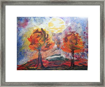 Perfect Simple Framed Print by Kim St Clair