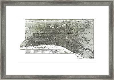 Philadelphia - Pennsylvania - United States - 1887 Framed Print by Pablo Romero