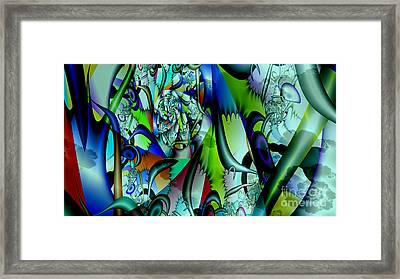 Picasso's Friend Framed Print by Peter R Nicholls