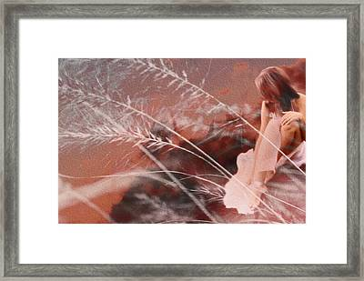 Pink Memories  Framed Print by Maggie Vlazny