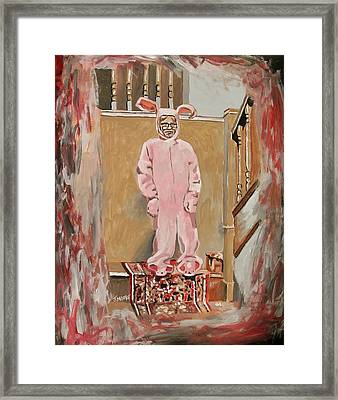 Pink Nightmare Framed Print by Jeremy Moore
