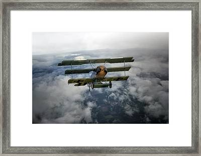Pioneers Of Aviation Framed Print by Jason Green