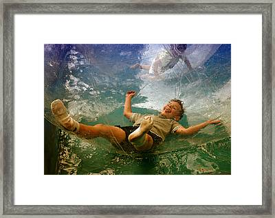 @ Play Framed Print