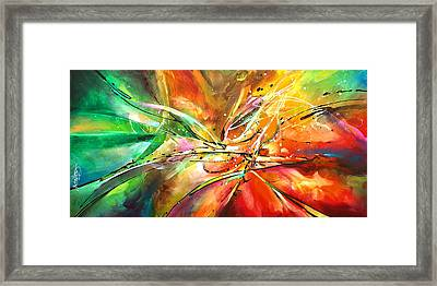 ' Point Of No Return' Framed Print by Michael Lang