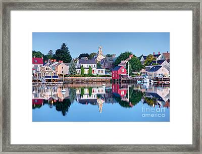 Portsmouth New Hampshire Framed Print