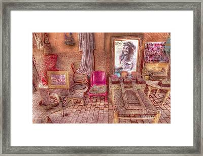 Rasta King At Marakech Framed Print by George Paris