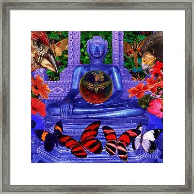 Reaching Nirvana Gautama Buddha Framed Print