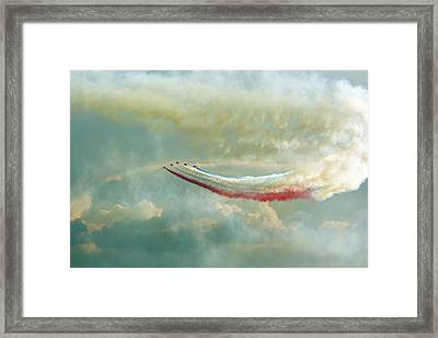 Red Arrows Framed Print by Jason Green