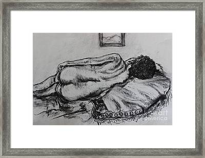 Reflecting Framed Print by Sharon Wilkens