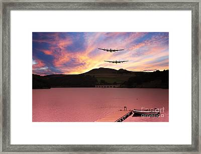 Reservoir Run Framed Print