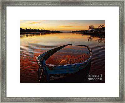 Framed Print featuring the photograph  Ripples by Trena Mara