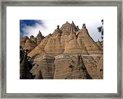 Rock Castle Framed Print by George Tuffy