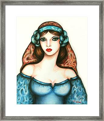 Roman Woman Framed Print