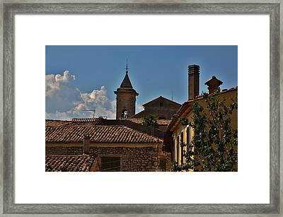Rooftop Of The City Framed Print