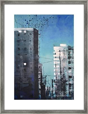 Rotterdam Framed Print