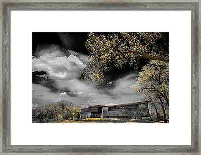Rowing Building Framed Print